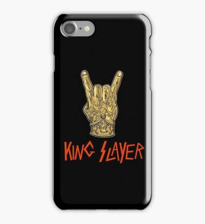 King Slayer Thrones Artwork iPhone Case/Skin