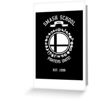 Smash School United (White) Greeting Card