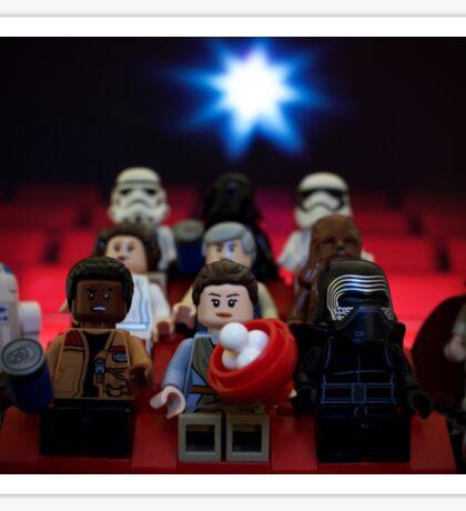 Star Wars Movie Night Sticker