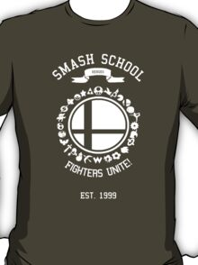 Smash School United (White) T-Shirt