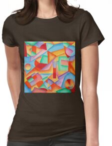 small painting I Womens Fitted T-Shirt