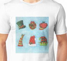 Christmas Hats Unisex T-Shirt