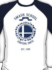Smash School United (Blue) T-Shirt