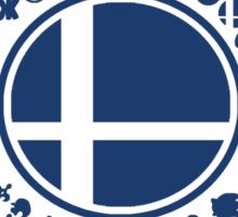 Smash School United (Blue) Sticker