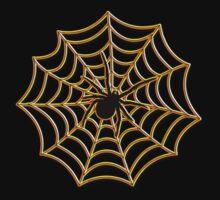 Halloween Spider Web One Piece - Short Sleeve