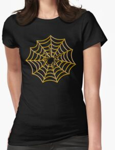 Halloween Spider Web T-Shirt