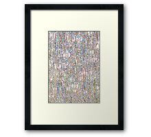 To Love Beauty Is To See Light (Crystal Prism Abstract) Framed Print