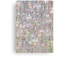 To Love Beauty Is To See Light (Crystal Prism Abstract) Canvas Print