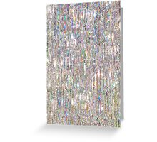 To Love Beauty Is To See Light (Crystal Prism Abstract) Greeting Card