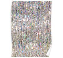 To Love Beauty Is To See Light (Crystal Prism Abstract) Poster