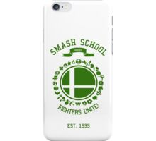 Smash School United (Green) iPhone Case/Skin