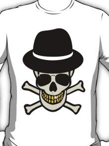 Halloween Skull Hipster T-Shirt
