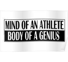 MIND OF AN ATHLETE Poster
