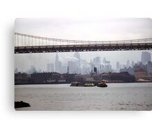 Approaching Hell Gate Canvas Print