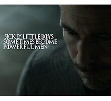 Sickly Little Boys Photographic Print