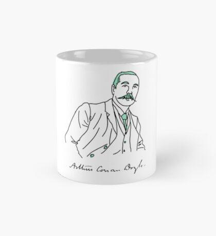 Minimalist Arthur Conan Doyle Mug