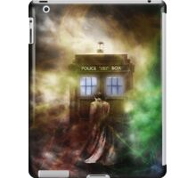 Abstract Color Hazy Police Public Call Box iPad Case/Skin