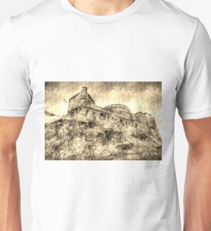Edinburgh Castle Vintage Unisex T-Shirt