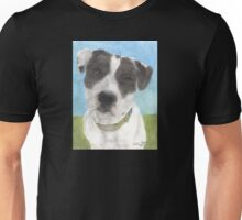 Pitbull Dog Portrait Canine Animal Cathy Peek Unisex T-Shirt