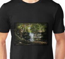 Harrison Wright Falls Autumn View Unisex T-Shirt