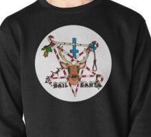 Hail Santa (white circle) Pullover