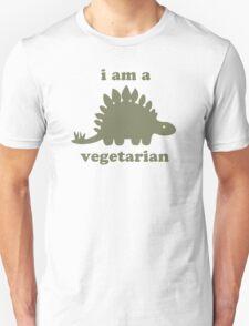 Vegetarian Stegosaurus Dinosaur  T-Shirt