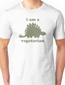 Vegetarian Stegosaurus Dinosaur  Unisex T-Shirt