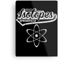 Springfield Isotopes Metal Print