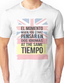 Thinking in Dos (Brit Version) Unisex T-Shirt