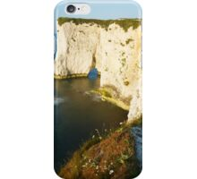Morning light at Old Harry Rocks iPhone Case/Skin