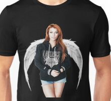 Random Model with Wings Unisex T-Shirt