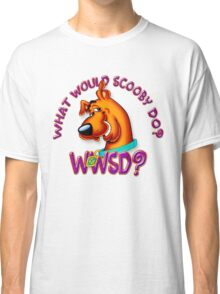 What Would Scooby Doo? - WhatIf Design and More Classic T-Shirt