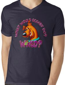 What Would Scooby Doo? - WhatIf Design and More Mens V-Neck T-Shirt