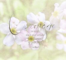 courage quote-inspirational by vigor