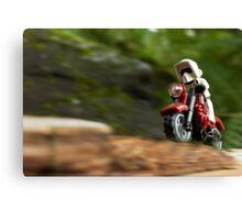 Speeder Bike Canvas Print