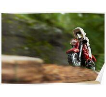 Speeder Bike Poster