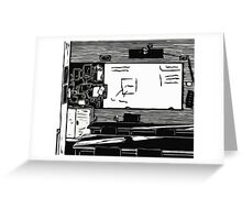 Class Print Greeting Card