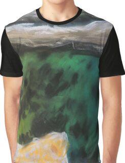 Green water Graphic T-Shirt