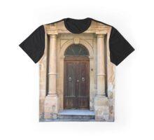 Wooden door in Malta Graphic T-Shirt