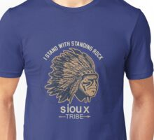 I Support Standing Rock Sioux Tribe Unisex T-Shirt