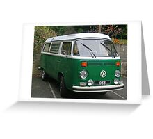 VW T2 Bay Greeting Card