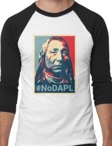 #NoDAPL - Stand With Standing Rock Men's Baseball ¾ T-Shirt