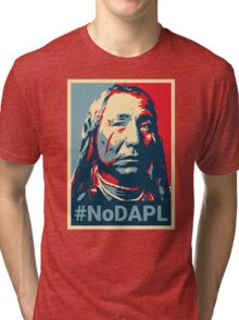 #NoDAPL - Stand With Standing Rock Tri-blend T-Shirt