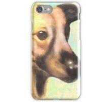 Water Color Dog Portrait  iPhone Case/Skin