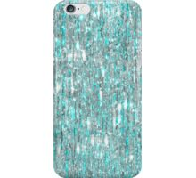 The Cold Never Bothered Me Anyway (Frozen Icicle Abstract) iPhone Case/Skin