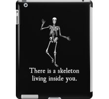 Skeleton Living Inside You iPad Case/Skin