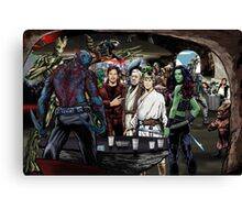 Guardians In A Galaxy Far, Far Away  Canvas Print