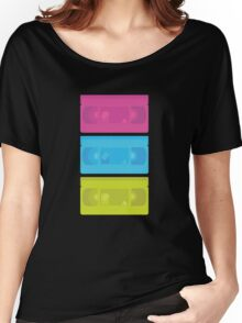 VHS Neon (black) Women's Relaxed Fit T-Shirt