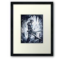 Two Sword Knight Framed Print