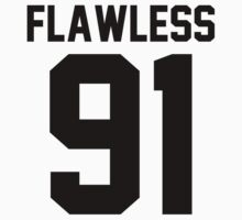 Flawless '91 - Jersey Tee by jezzhands